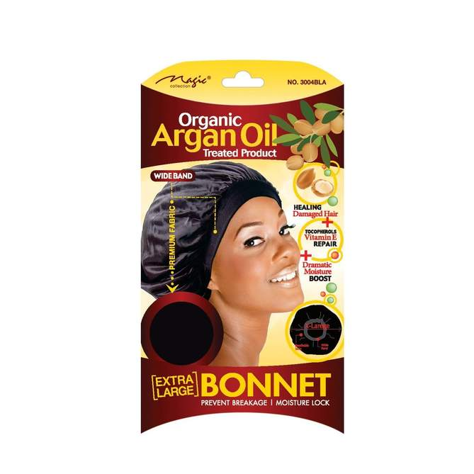 Magic Collection Organic Argan Oil Treated Product Bonnet