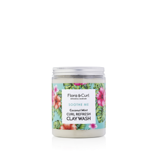 Flora curl Coconut Mint Curl Refresh Clay Wash