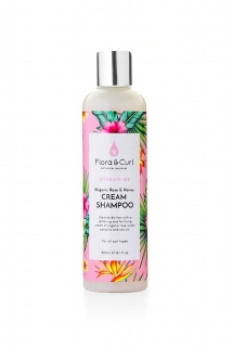 Flora Curl Organic Rose & Honey Cream Shampoo