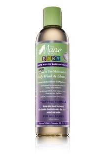 The Mane Choice White Willow Bark & Cucumber Baby Hair to Toe Wash & Shampoo