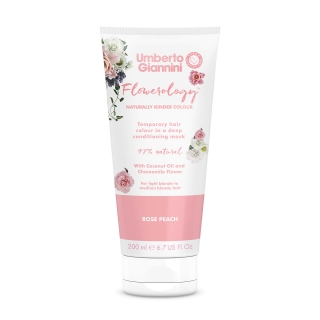 Umberto Giannini Flowerology Temporary Colour Mask – Rose Peach