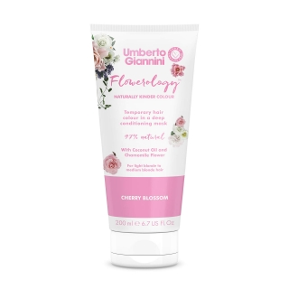 Umberto Giannini Flowerology Temporary Colour Mask – Cherry Blossom