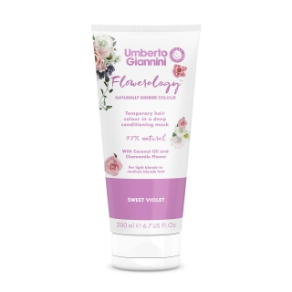 Umberto Giannini Flowerology Temporary Colour Mask – Sweet Violet