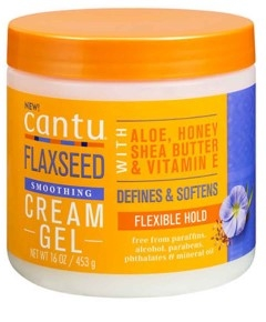 Cantu Shea Butter Flaxseed Smoothing Cream Gel